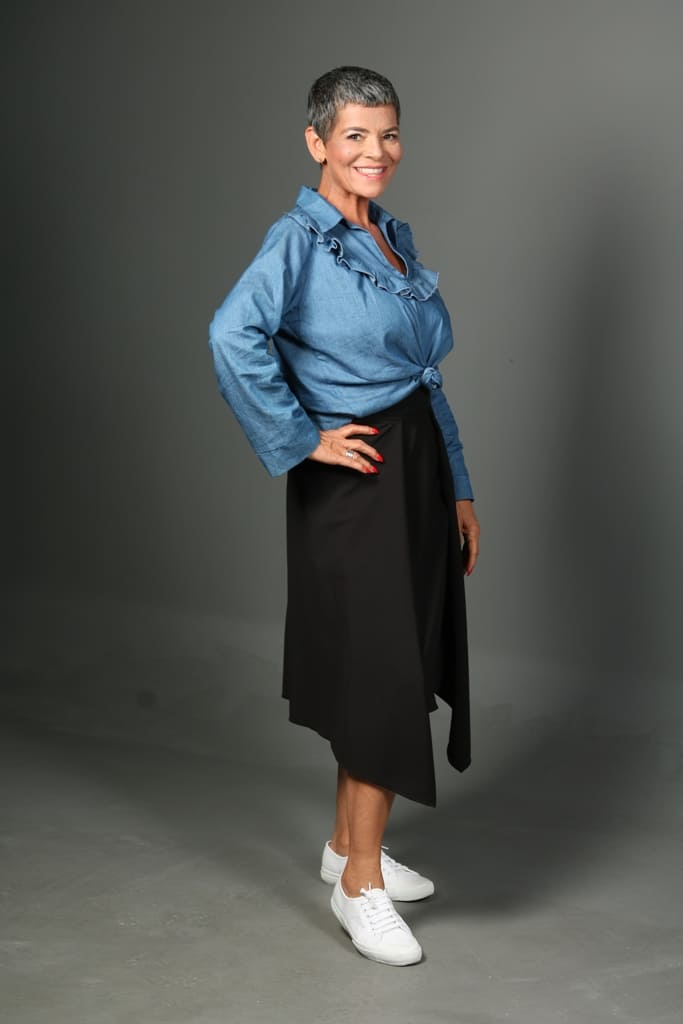 modelo feminina acima dos 50 - Valente Produções - agencia de modelos