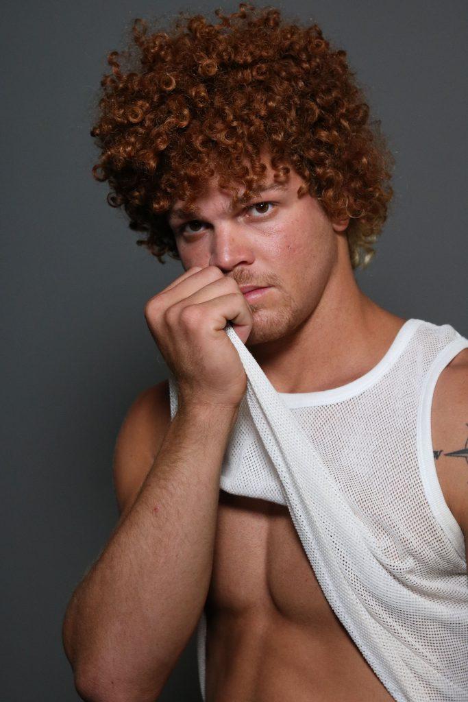 Modelo masculino ruivo em Lisboa - Valente Produções