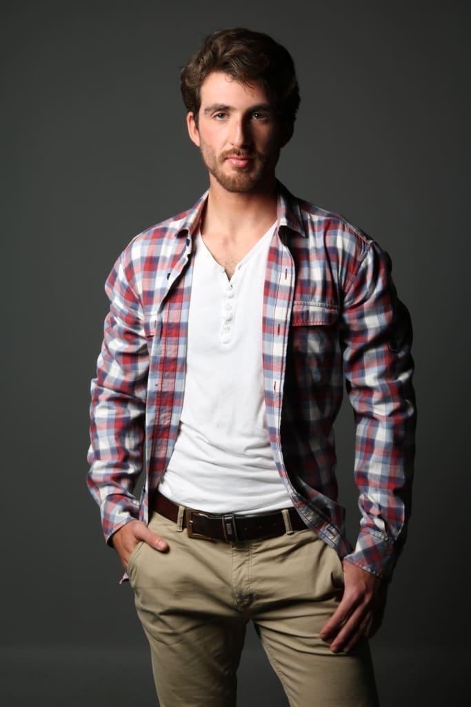 Modelo masculino em Lisboa - Valente Produções